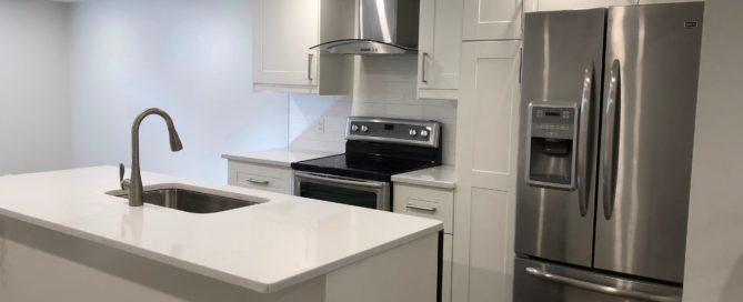 Collaborative Construction regina renovation basement suite ikea kitchen