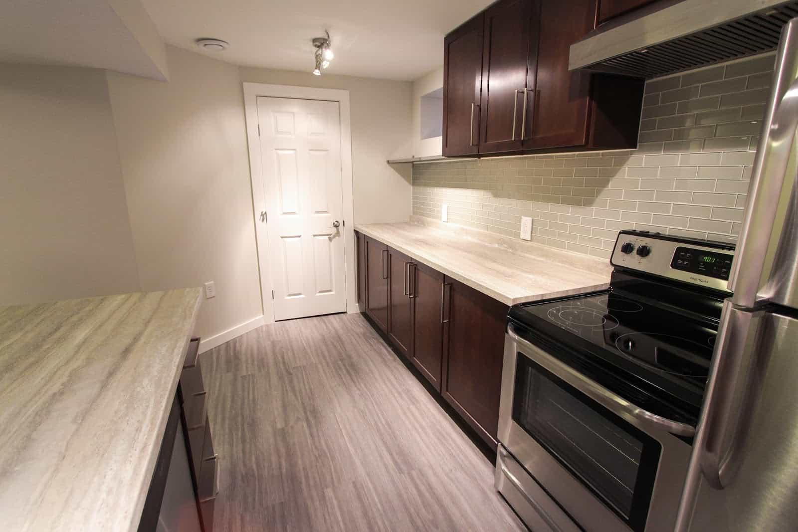 Collaborative Construction regina renovation basement suite home depot kitchen
